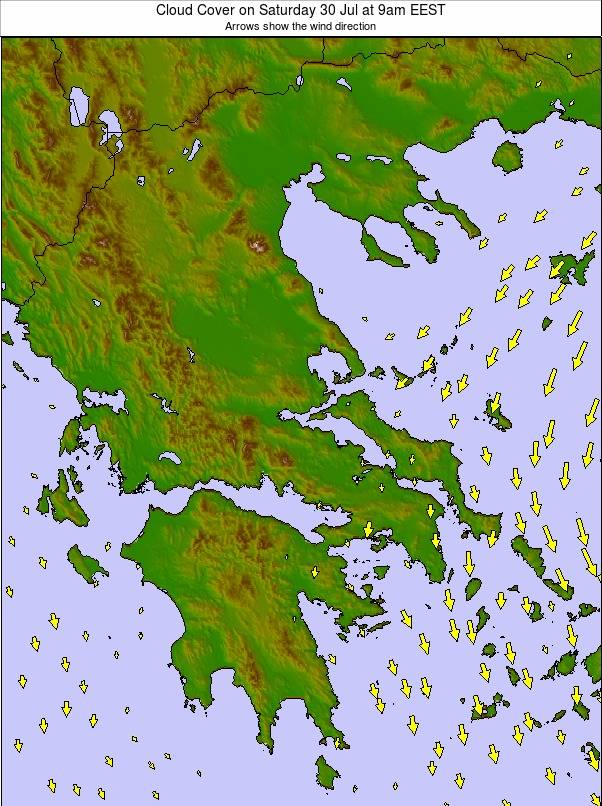 Greece weather map - click to go back to main thumbnail page