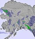 Αλάσκα snow map
