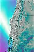 Central Andes wind forecast for this period