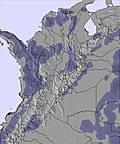 Колумбия snow map