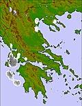 Greece cloud forecast for this period