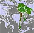 South America Cloud Map