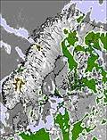 Scandinavia cloud forecast for this period