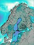 Scandinavia wind forecast for this period
