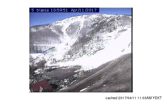 Abzakovo webcam at lunchtime today