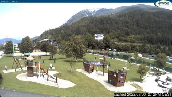 Achenkirch am Achensee webcam at 2pm yesterday