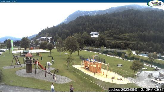 Achenkirch am Achensee webkamera ze včerejška ve 14 hod.