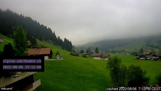 Live webcam per Adelboden se disponibile