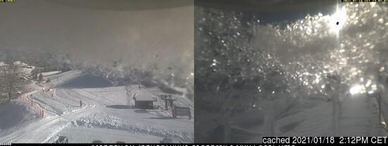 Κάμερα σε Aillons-Margeriaz στις 2μμ χθές
