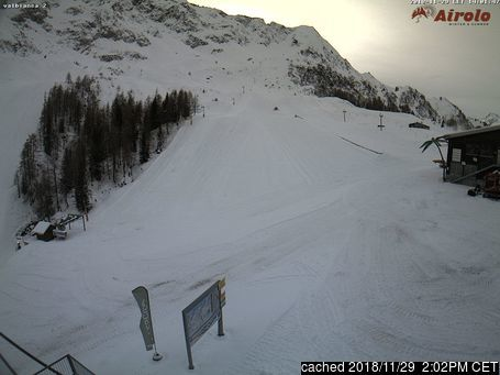 Airolo webcam at 2pm yesterday