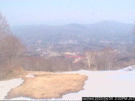 Akakura Kanko webcam às 14h de ontem