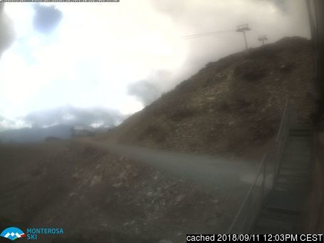 Alagna webcam at lunchtime today