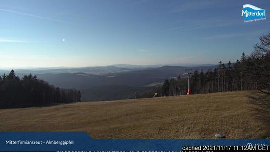 Almberg/Skizentrum Mitterdorf webcam at 2pm yesterday