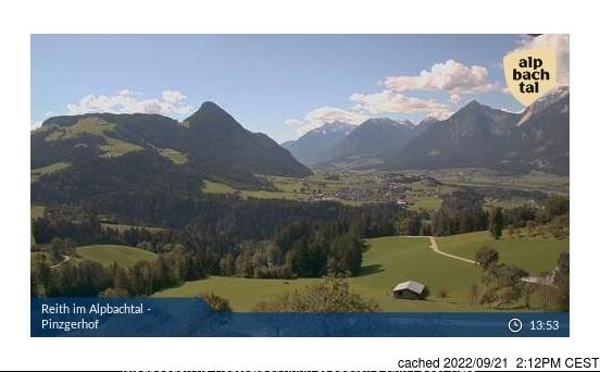 Webcam de Alpbachtal a las doce hoy