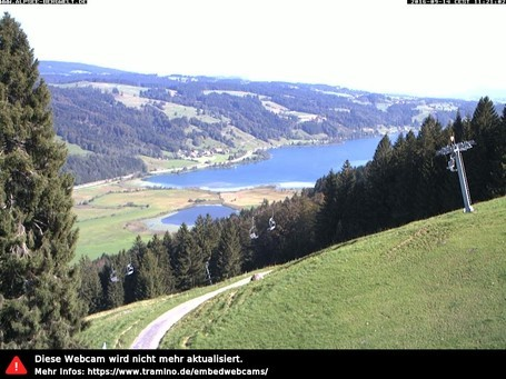 Alpsee Bergwelt webcam at 2pm yesterday