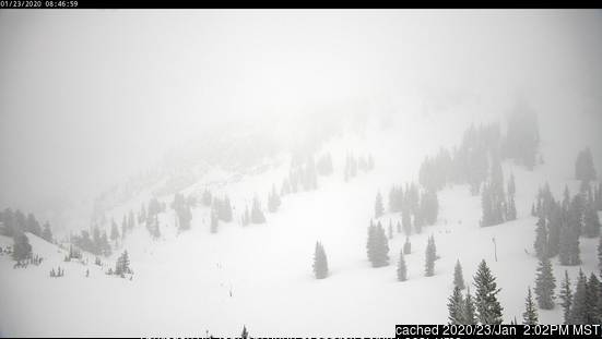 Alta webcam at 2pm yesterday
