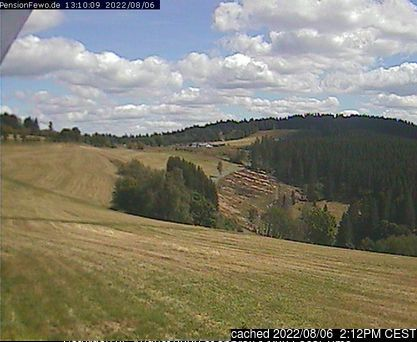 Altastenberg webcam at lunchtime today