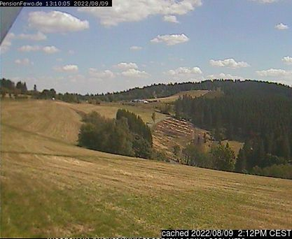 Altastenberg webcam at 2pm yesterday