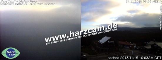 Altenau webcam hoje à hora de almoço