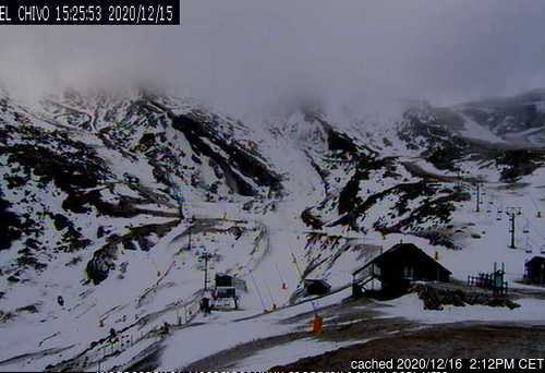 Alto Campoo webcam at lunchtime today