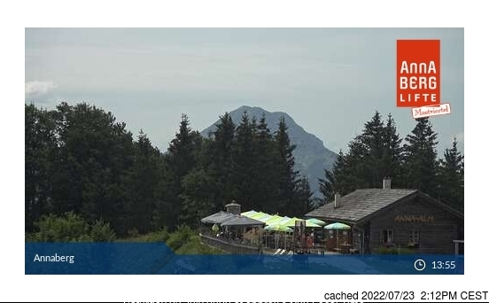 Annaberg webcam at lunchtime today