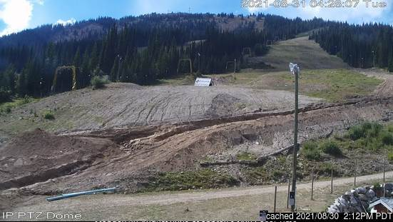 Apex Resort webcam at lunchtime today