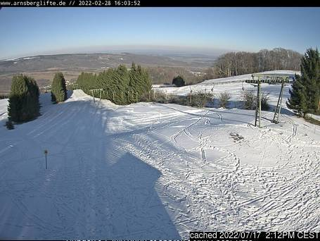Arnsberg webcam at lunchtime today