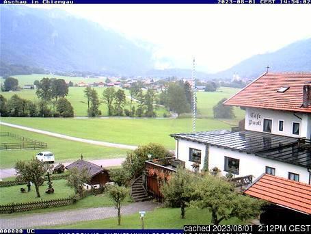Aschau im Chiemgau webcam at 2pm yesterday