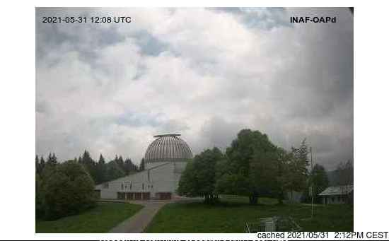 Asiago webcam at 2pm yesterday