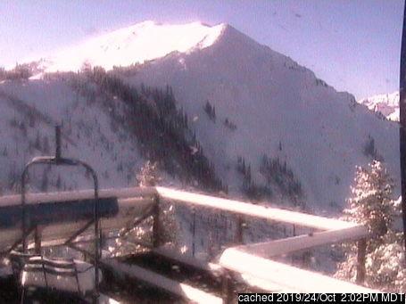 Aspen Highlands webcam at lunchtime today