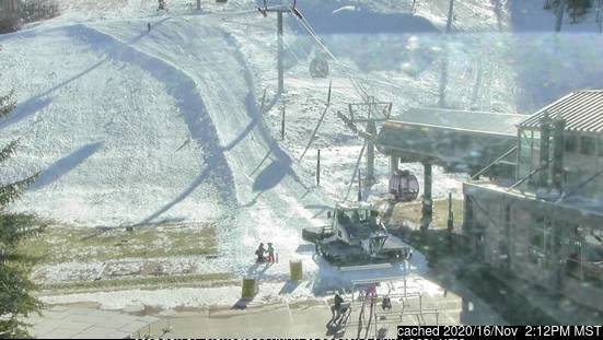 Aspen webcam at lunchtime today