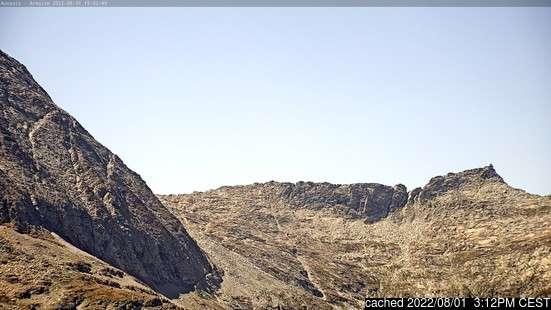 Live Snow webcam for Aussois