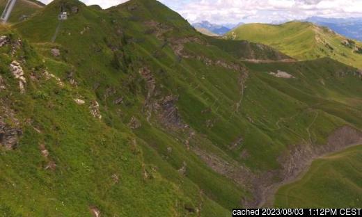 Live snöwebbkamera för Avoriaz