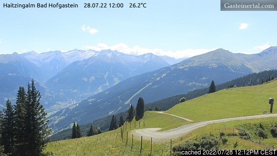 Live Snow webcam for Bad Hofgastein