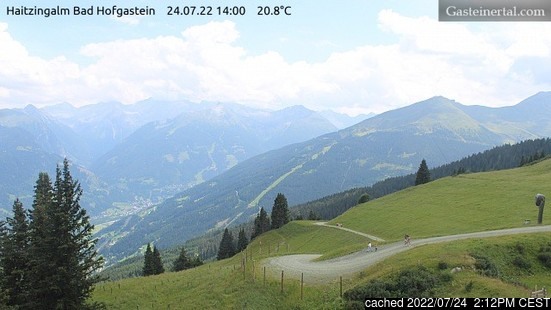 Webcam en vivo para Bad Hofgastein