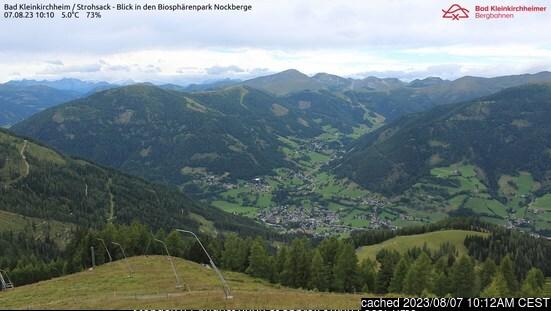 Bad Kleinkirchheim webcam heute beim Mittagessen
