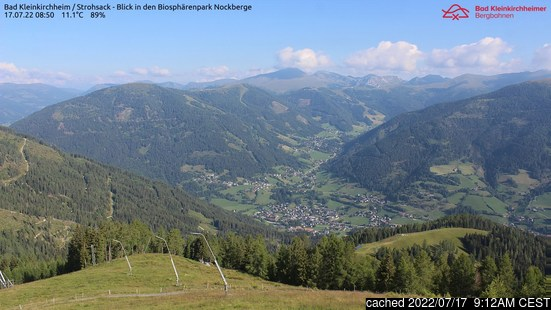 Live Snow webcam for Bad Kleinkirchheim