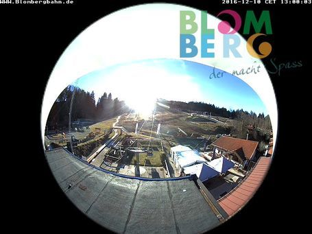Bad Tölz/Blomberg webcam at 2pm yesterday
