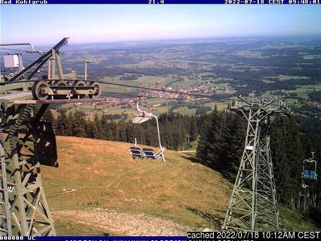 Bad Kohlgrub webcam at lunchtime today