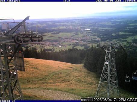 Live Snow webcam for Bad Kohlgrub
