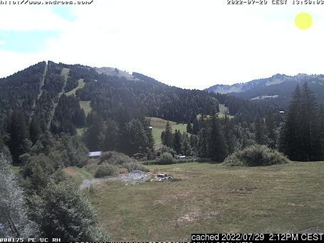 Balderschwang webcam at 2pm yesterday