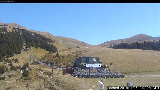 Baqueira/Beret webcam at 2pm yesterday