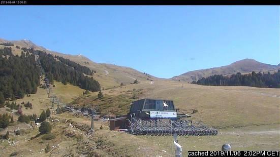 Webcam de Baqueira/Beret a las 2 de la tarde hoy