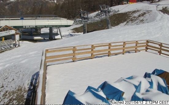 dün saat 14:00'te Bardonecchia'deki webcam