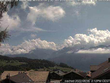 Beatenberg webcam at lunchtime today