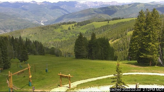Beaver Creek webcam at lunchtime today