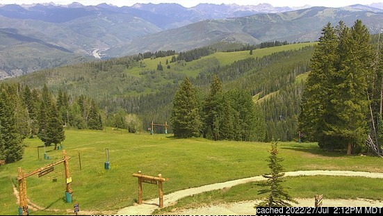 Beaver Creek webcam at 2pm yesterday