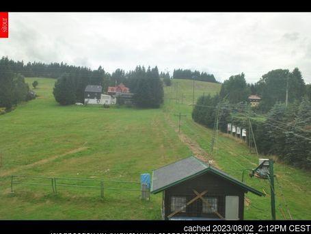 Webcam de Bedřichov à 14h hier