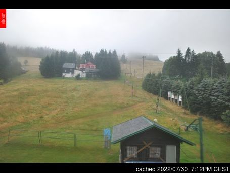 Live Snow webcam for Bedřichov