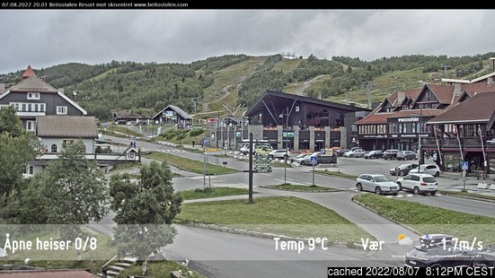 Live Snow webcam for Beitostølen